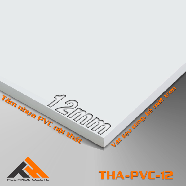 tấm nhựa pvc THA-12mm