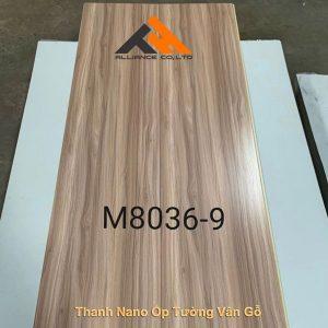 tấm nano vân gỗ M8036-9