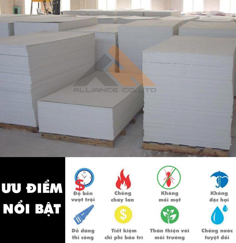ưu điểm tấm nhựa pvc