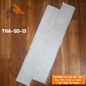 sàn nhựa keo dán 2mm - tha-sd-13