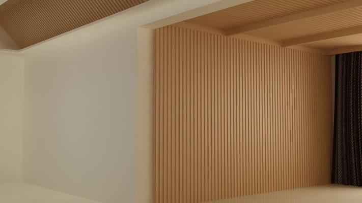 lam gỗ nhựa composite báo giá và thi công lam gỗ nhựa ốp tường ốp trần